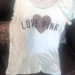 Cute vs pink tee in new condition!